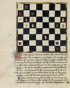 Chess Problem 14eme siècle