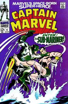 Captain Marvel # 4 by Gene Colan & Vince Colletta