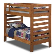 I Like The Clean Lines On This Bunk Bed But If You Use End Value City