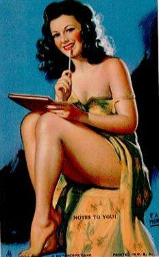 probably one of my favorite pin ups ever.