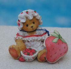 1995 STRAWBERRIES Cherished Teddies Tara- You re My Berry Best Friend 156310 2f8b8b347ad3