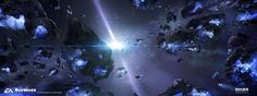 ArtStation - Mass Effect Andromeda - Early space exploration 02, Ben Lo