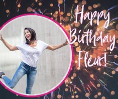 A huge HAPPY BIRTHDAY to our number one bossy pants, Fleur! We hope your birthday is as awesome as you are!