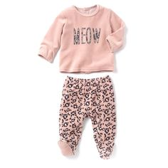 Pijama 2 peças em veludo R Baby | La Redoute