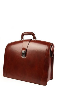 Bosca Triple Compartment Leather Briefcase | Nordstrom | ridiculously sleek | $575
