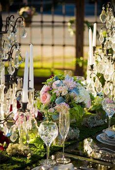 gorgeous.... tablescapes garden