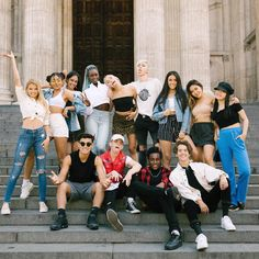 Squad Pictures, Squad Photos, Group Photos, London City, Bailey May, London Summer, Love Now, Best Part Of Me, Pop Group