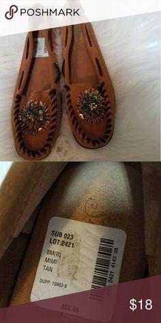 St Johns Bay Beaded Mocasins NWT Brand new. Cute beaded mocasins size 8 St. John's Bay Shoes Moccasins