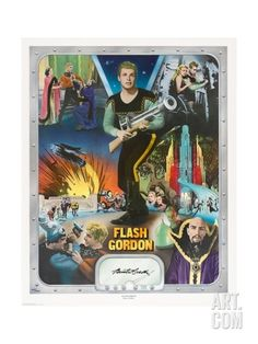 "Flash Gordon: Space Soldiers, 1936, ""Flash Gordon"" Directed by Ray Taylor, Frederick Stephani Giclee Print at Art.com"