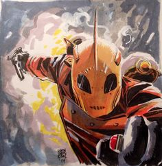 The Rocketeer by Mike Henderson