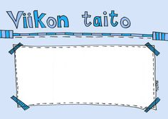 "Viikoitain vaihtuva harjoittelun kohde ""Viikon taito"" - pohja luokkaan… School Classroom, School Fun, Pre School, School Health, Teaching Kindergarten, Early Childhood Education, Social Skills, Special Education, Problem Solving"