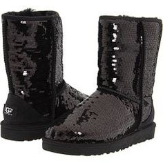 OH MY GOSH! Sparkly Uggs!