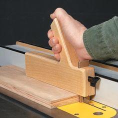 Ah! E se falando em madeira...: dica para empurra pau