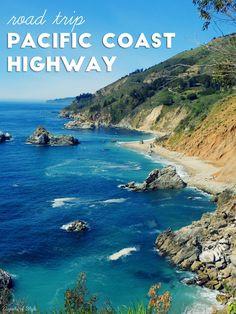 Road Trip Pacific Coast Highway Cayucos Californiacalifornia Travelvisit