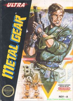 Metal Gear - Released in 1988 for the Nintendo Entertainment System. A port of the original Metal Gear for the MSX home computer in Japan.