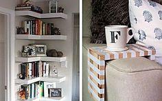 10 ideias para aproveitar melhor espaços pequenos