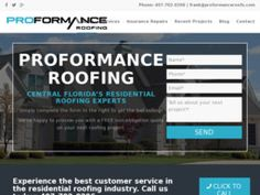 New listing in Roofing Contractors added to CMac.ws. ProFormance Roofing in Clermont, FL - http://roofing-contractors.cmac.ws/proformance-roofing/33598/