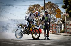Travis Pastrana and Ken Block