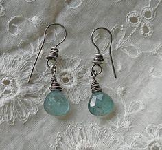 hope in blue earrings