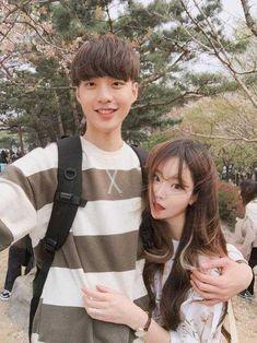1466190048 1466168460 large I Miss My Boyfriend, Future Boyfriend, Korean Ulzzang, Ulzzang Boy, Korean Couple, Best Couple, Asian Love, Asian Girl, Sweet Pic