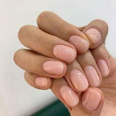 Suitable For Everyday Natural Nails Ideas – Nails Nails Ideias, Stars Nails, Nagellack Design, Manicure Y Pedicure, Manicure Ideas, Manicure For Short Nails, Fall Pedicure, Rose Nails, Neutral Nails