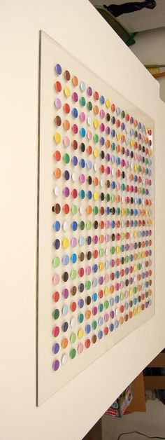 make with paint chips!