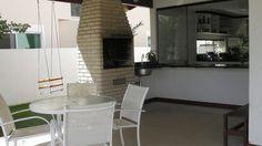 Área da Churrasqueira integrada com Cozinha