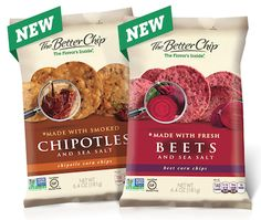 @The Better Chip launched two NEW flavors! Beet & Chipotle! #TeamTBC