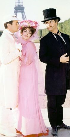 The Great Race - starring Tony Curtis, Jack Lemmon, and Natalie Wood
