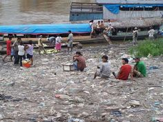 A riverbank on the Amazon, Iquitos