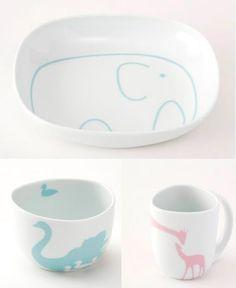 Porcelain from Hana Blomst