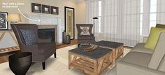 Crate & Barrel's New 3D Room Designer