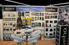 The Peak Development stand at the Outdoor Trade Show (OTS) 2014.  We focused on a range of Outdoor products from EnerPlex, Overboard, Sony and Veho.