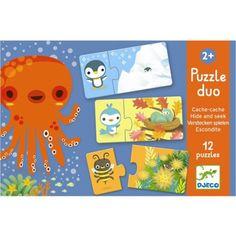 puzzel duo verstoppertje (12x2st) | djeco