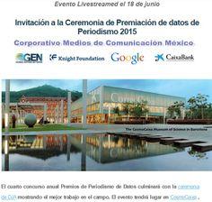 """REDACCIÓN"""" La Noticia con Verdad"""": Ceremonia de Premiación de datos de Periodismo 201..."""