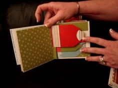 Really adorable mini album  Stampin' Up!