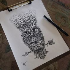 Thigh tattoo idea plus compas