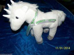PLUSH UNICORN HORSE Ameristar Casino Promotion Quadricorn horns fantasy