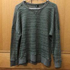 Grey sweater Very cute grey sweater. Please use the offer button to make any offers or bundle for a greater discount  Cotton On Sweaters Crew & Scoop Necks