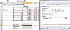 indiskacinci2 Excel Çok Fonksiyonlu Kriter Arama
