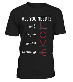 All you need is love!  #image #sciencist #sciencelovers #photo #shirt #gift #idea #science #fiction