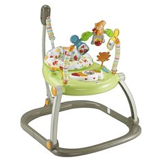 Fisher-Price Entertainer SpaceSaver Jumperoo Woodland Friends
