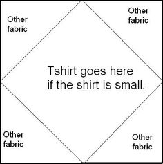 How to Make a Quilt from Tee Shirts: 11 Steps (with Pictures) - including alternate design ideas