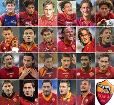 Francesco Totti has been a pivotal player for Roma since his professional debut for his bo...