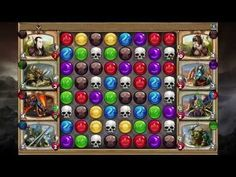 Gems of War [STEAM] - RAW Gameplay 4 - Gems of War is a Free-to-play Puzzle [match-3 puzzle] Role-Playing [RPG] hybrid Game a genre as deep as RPGs are married with one as seemingly shallow like match-3 puzzle