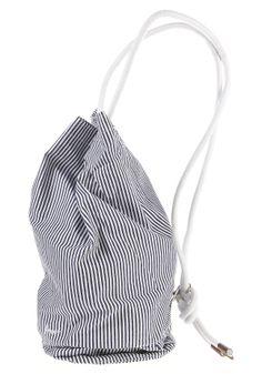 #planetsports FORVERT - Lutz Bag navy-white-striped