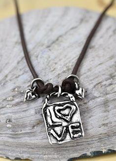 Love Squared necklace.  #jewelry #love #necklaces #cowgirljewelry #inspiration #handmadejewelry #romantic  islancowgirl.com