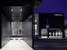 theory shop by Nendo, Los Angeles – California »  Retail Design Blog
