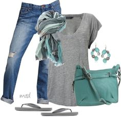 """Flip Flop Friday"" by michelled2711 on Polyvore"