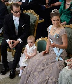 Princess Estelle of Sweden turns two: a gallery of the youngster's sweetest moments Estelle took pride of place on her own special chair for the ceremony